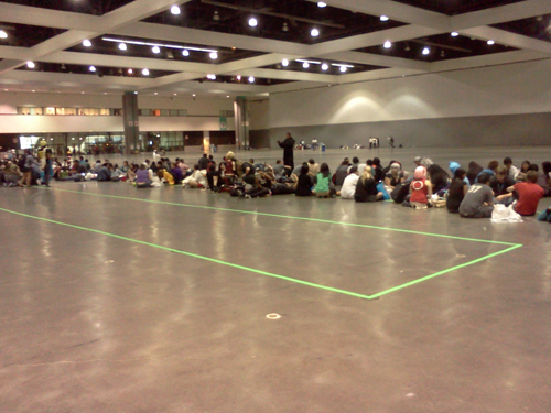 Anime Expo 2012 depends on Trade Show Tape for special event crowd control