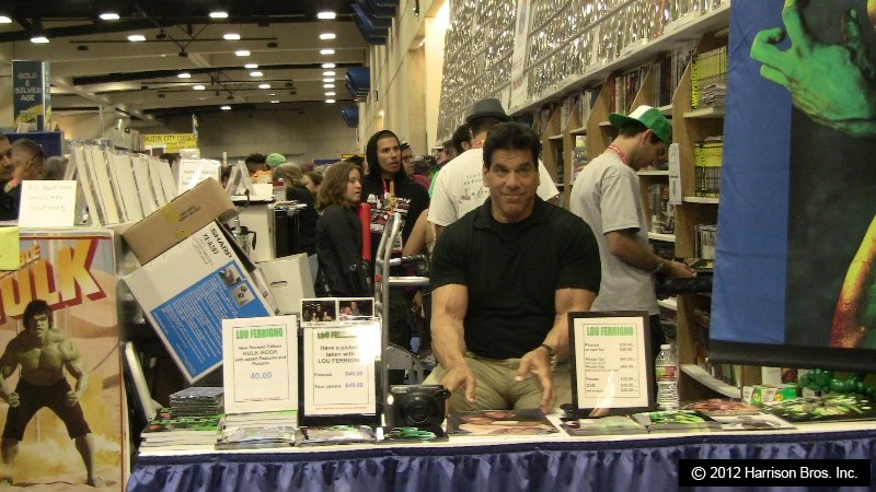 The Incredible Hulk – Lou Ferrigno at Comic-Con 2012