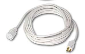 White Extension Cords Add A Nice Finishing Touch